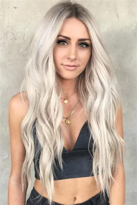 Golden Platinum Hair by Things You Should About Platinum Hair Ashy