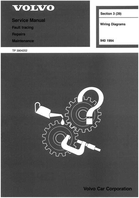 volvo  wiring diagram troubleshooting manual