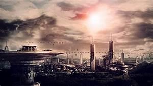 Futuristic City Wallpaper 33