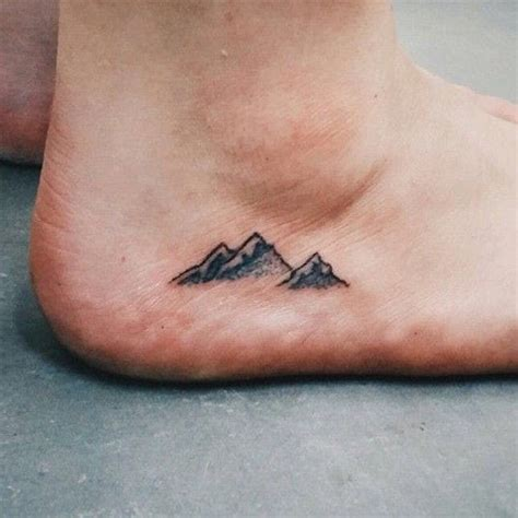 tiny ankle tattoos  big meanings brit