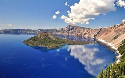 Lake Crater Wallpapers Cool Nature Widescreen Organic