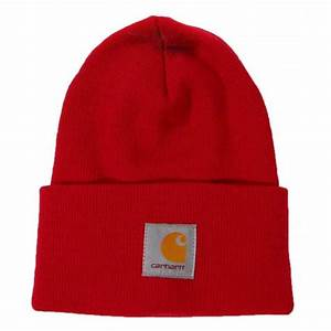 Carhartt Acrylic Watch Hat Independence Red - Mens ...