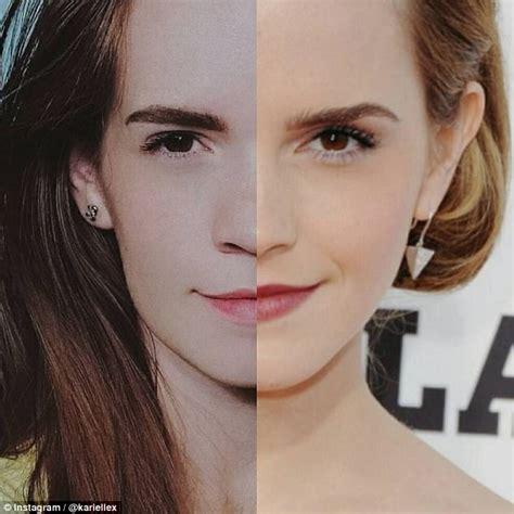 Emma Watson Lookalike Stuns The Internet Daily Mail Online