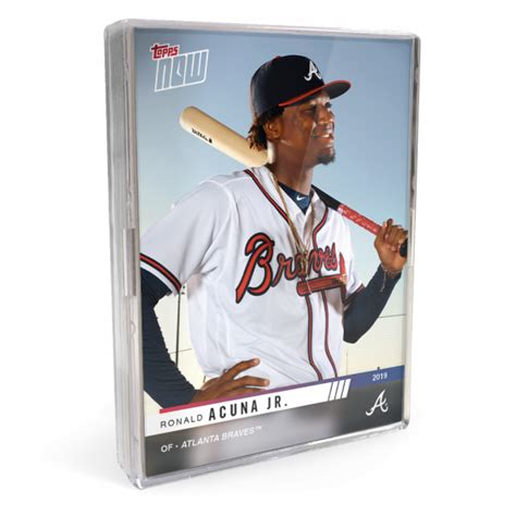 2019 Atlanta Braves TOPPS NOW® Road To Opening Day 16-Card ...