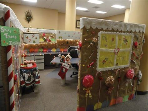gingerbread house office cubicle decorations 1000 images about office ideas on cubicles cheap and