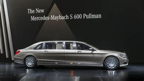 Mercedes-maybach S600 Pullman Is The Epitome Of Three
