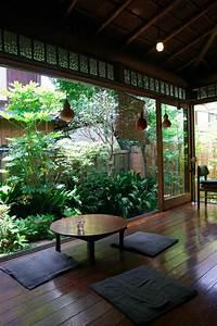 la decoration japonaise et l39interieur japonais en 50 photos With chambre bébé design avec plantes appartement fleuries