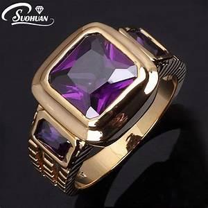 Wholesale male finger rings new Fashion Men's Purple ...