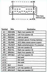 Honda Accord Car Stereo Wiring Harness