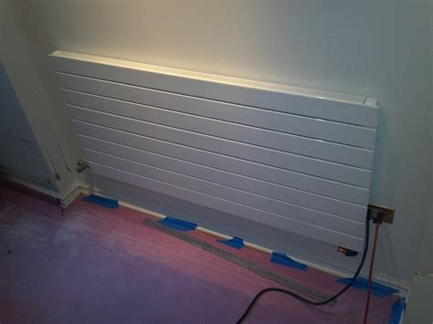 Runtal Radiator Installation by Gallery Absolute Mechanical Co Inc