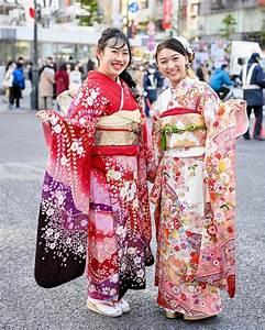 Tokyo, Fashion, Beautiful, Traditional, Japanese, Furisode