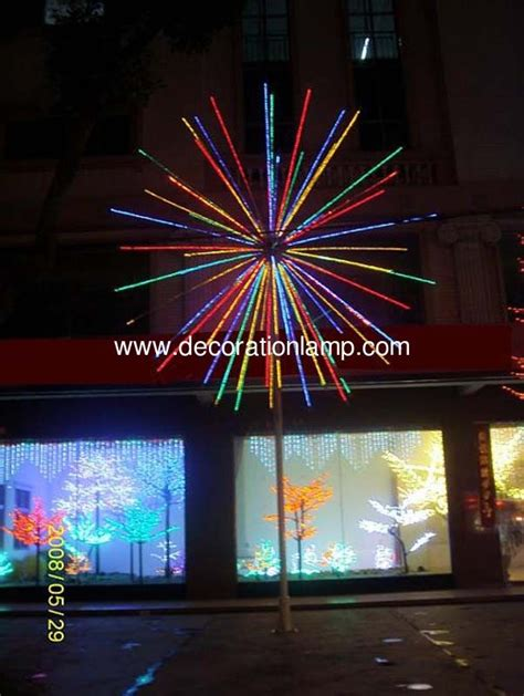 2015 high simulation led christmas fireworks light with ce