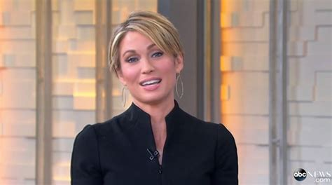amy robach debuts short haircut  good morning america