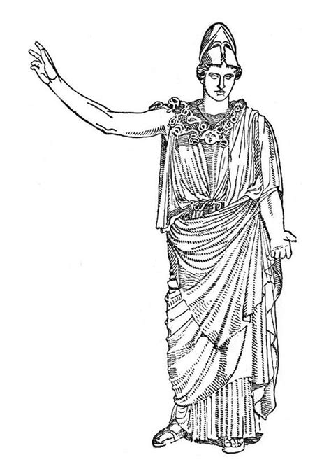 Griekse Goden Kleurplaten by Goddesses Coloring Pages Goddess Artemis