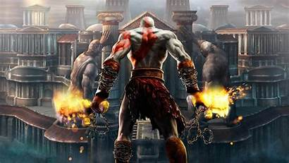 Wallpapers War God Ps3 Ps2 Psp Ghost