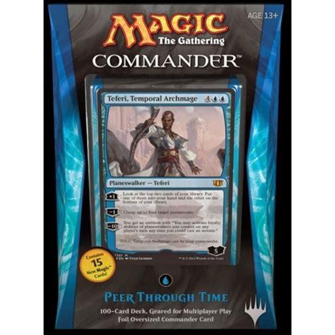 blue commander deck autos post