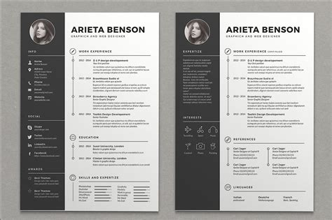 Creative Resume Templates by Best Resume Templates That Will Showcase Your Skills