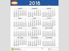 El Año 2018 Ajustó Comienzo Español De La Semana Del