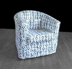 ikea barrel chair slipcover     bit