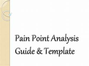 Pain Point Analysis Guide  U0026 Template