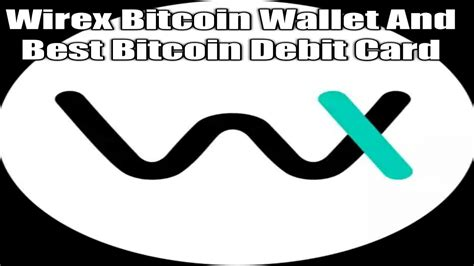These crypto holders hold enough of whatever crypto they have, for their wallets to be noticed on the public ledger (blockchain). Wirex Bitcoin Wallet And Best Bitcoin Debit Card - YouTube