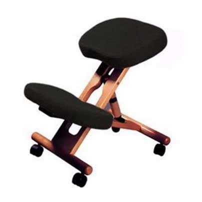 chaise de bureau ergonomique dos siège assis genoux jobri f1451