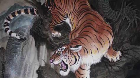 El Significado De Los Tigres En El Irezumi