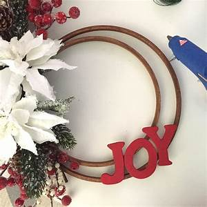 joy holiday wreath project by decoart With ac moore unfinished wood letters