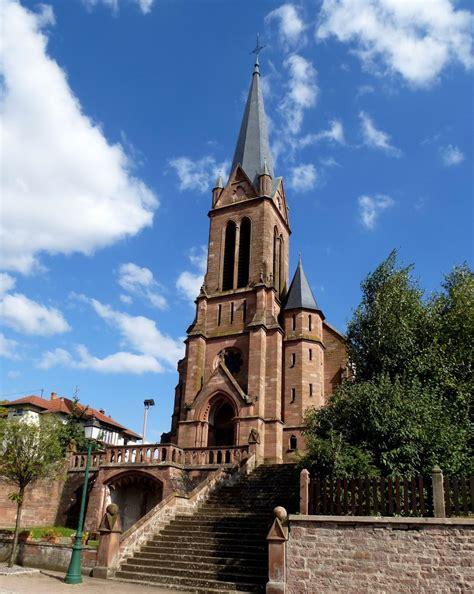 Lembach, Die Katholische Kirche Im Neugotischen Stil