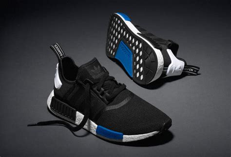 Original Blue Black wholesale adidas nmd r1 black white blue s79162 s