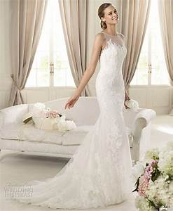 illusion neckline wedding dresses belle chic With illusion wedding dress