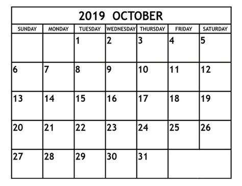 october  calendar  word excel templates calendar