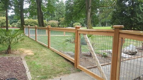 ideas  install hog wire fence panels fence  gate ideas