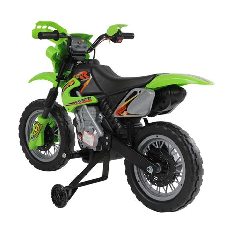 Qaba Kids Electric Ride On Motorcycleyellow  Ideal Home