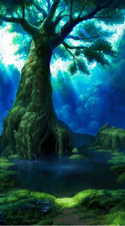 Chrono Fundos Cross Fantasy Landscape Creepy Af