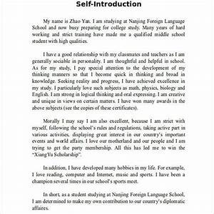 Life After High School Essay Essay On Self Introduction For Class  Critiquing Qualitative Research  Essay Examples Of Thesis Essays also Argument Essay Paper Outline Essay On Self Introduction Water Pollution Assignment Write An Essay  What Is A Thesis Statement In An Essay Examples