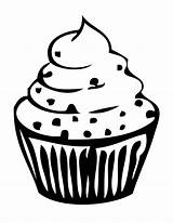 Cupcake Outline Clipart Coloring Pages Drawing Birthday Cake Cup Cliparts Printable Library Clip Cupcakes Clipartion Cakes Getcoloringpages Gclipart Attribution Forget sketch template