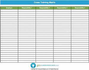 cross training template example With employee cross training template