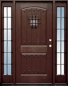 Speakeasy Front Door - Home Entrance Door Fiberglass Doors