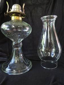 glass oil lamp white flame light company 1906 1929 With lamp light grand rapids