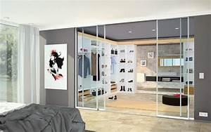 Antiker Schrank Mit Glastüren : begehbarer kleiderschrank ideen so geht 39 s ~ Orissabook.com Haus und Dekorationen
