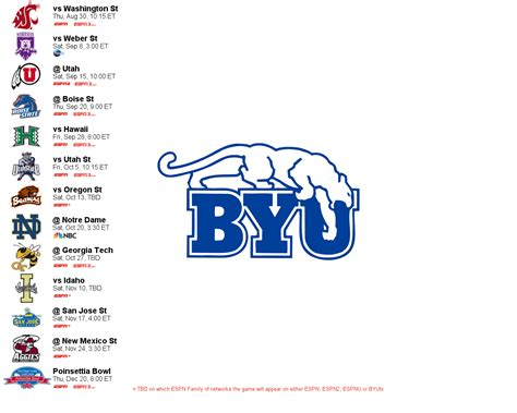 2012 Football Schedule Wallpaper (byufam1)