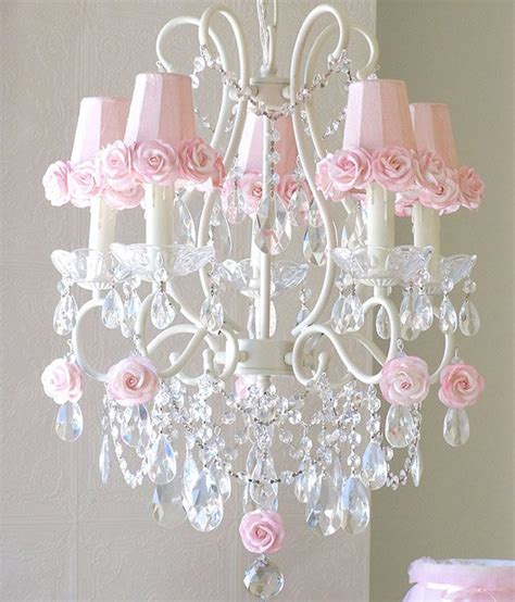 large pink chandelier 15 alluring pink chandeliers for a s bedroom home