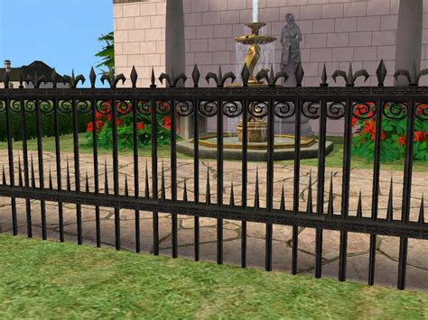 wrought iron fence styles calirondesign iron works in montclaire