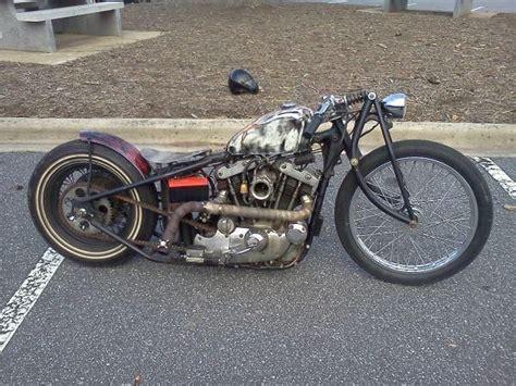 Rat Rod Bobber Motorcycle