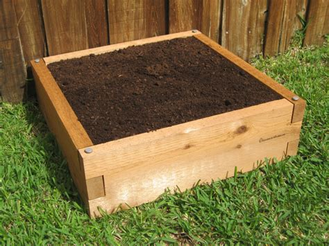 2x2 Cedar Raised Garden Bed