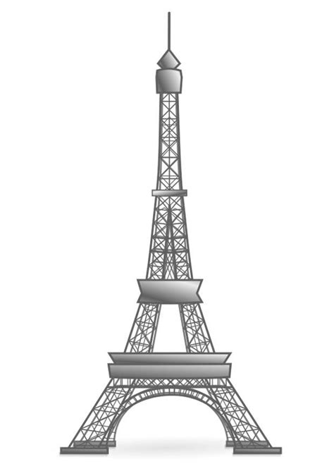dibujo  colorear torre eiffel francia img