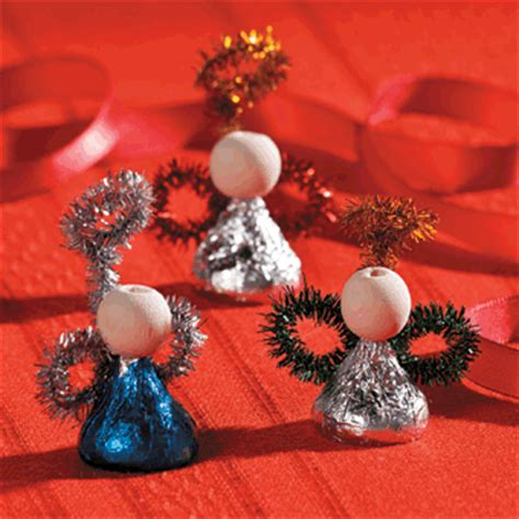 Hershey's® Kisses® Angels Craft  Free Christmas Recipes