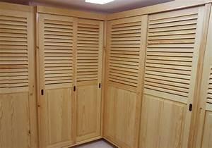 Porte Dressing Sur Mesure : porte de dressing en bois largeur placard coulissant ~ Premium-room.com Idées de Décoration