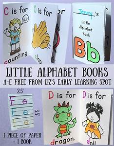 my little alphabet books liz39s early learning spot With picture books about writing letters